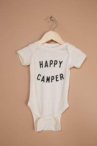 Happy Camper Natural Onesie