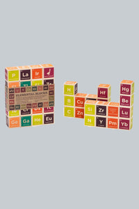 Periodic Table Wood Blocks