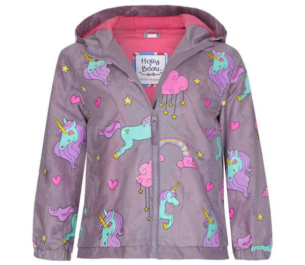 Unicorns Color Changing Raincoat