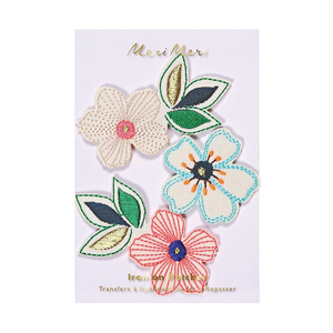 Flowers Iron-On Patch
