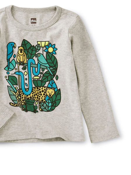 Heather Incan Animals Graphic Tee Kid