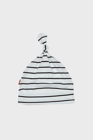 White/Black Stripe Modal Hat