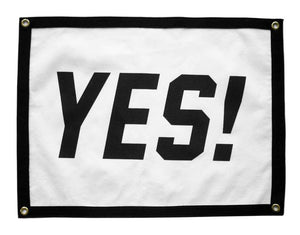 YES! Camp Flag