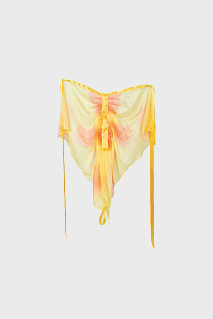 Silk Yellow/Orange Butterfly Wings