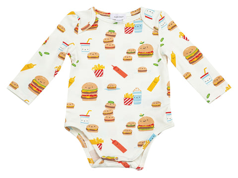Burger Joint Lap Shoulder Bodysuit