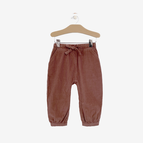 Rosewood Cord Slouchy Pant Kid