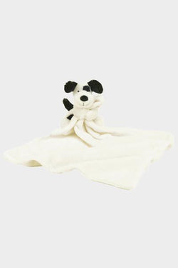 Bashful Black/Cream Puppy Soother