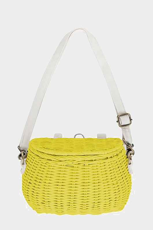 olli and Ella minichari basket bag yellow
