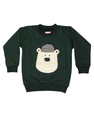 Hello Teddy Sweatshirt