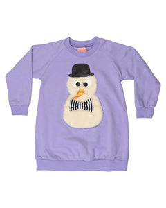 Snow Friend Sweatshirt Dress