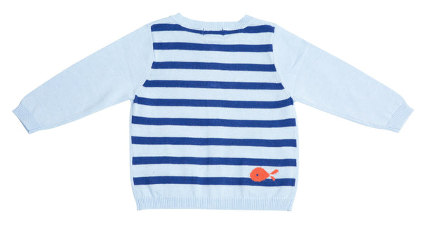 Nautical Boat Cardigan