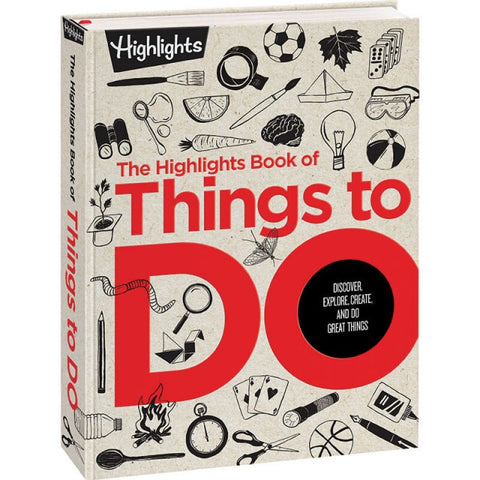 Highlights Book of Things To Do