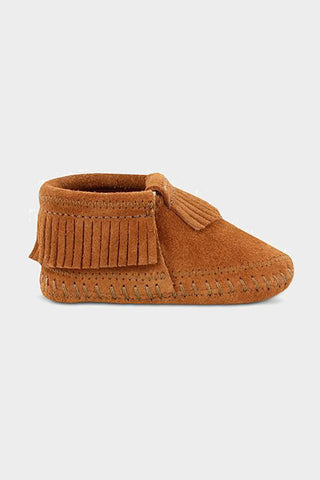 Minnetonka brown Riley moccasin