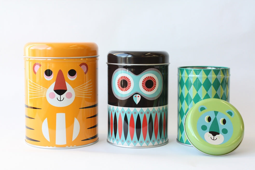 Animal Canisters Set