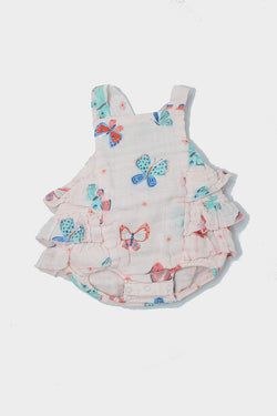 butterfly muslin sundress