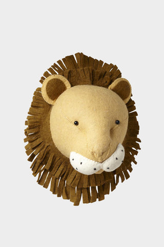Lion Head Wool Mount