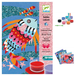 Colored Sand Craft Kit- Fish Rainbows