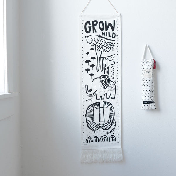 Safari Canvas Growth Chart