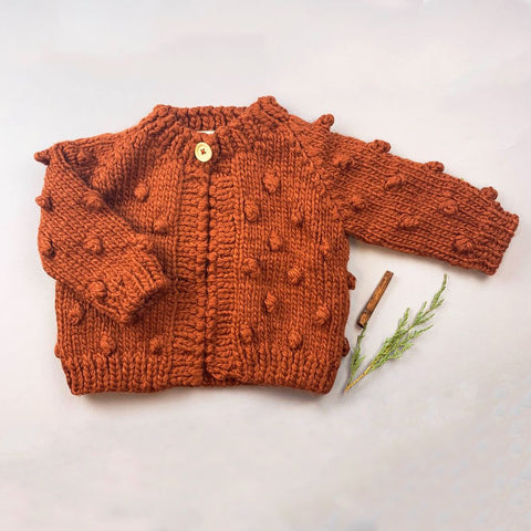 Cinnamon Dot Sweater