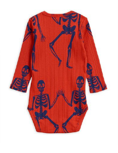 Skeleton L/S Body Onesie