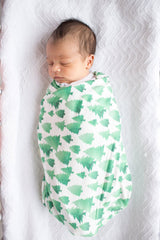 Forest Swaddle Blanket