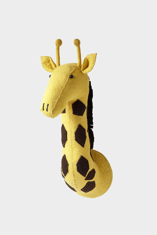 Giraffe Wool Mount