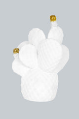 Cactus Lamp White & Gold