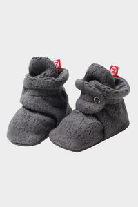 Cozie Fleece Booties Grey