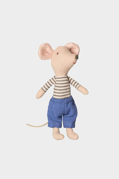 Big Brother Mouse with Stripe Shirt in Box