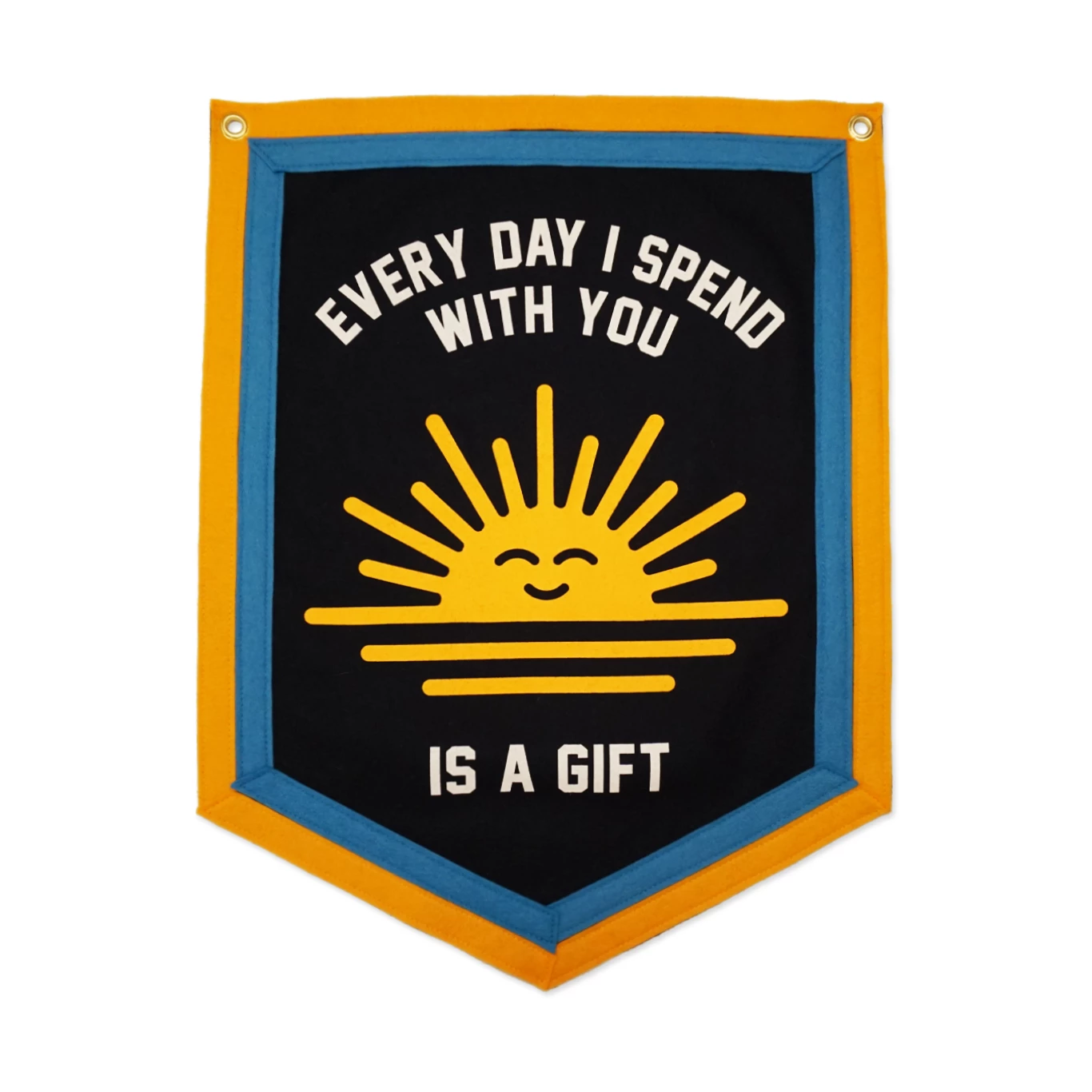 Everyday I Spend With You is a Gift Camp Flag