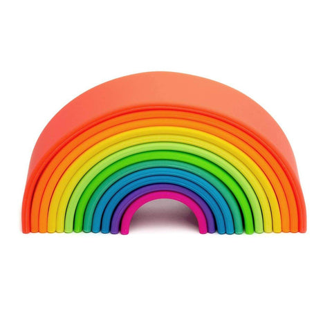 Large Neon Silicone Rainbow