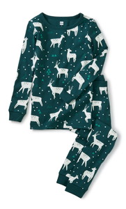 Night Deer Pajama Set