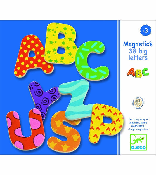 Wooden Magnetics 38 Big Letter