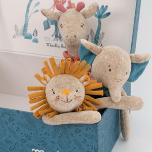 Sous Mon Baobab Rattle Animal