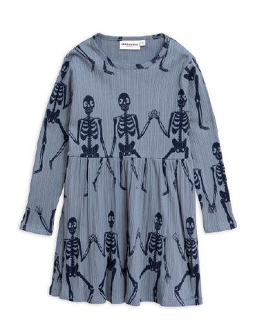 Skeleton L/S Dress (Baby)