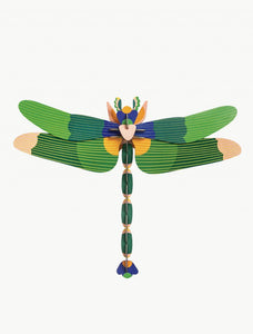 3D Giant Dragonfly Kit Green