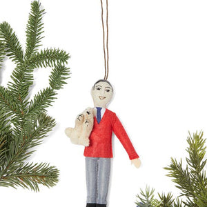 Mr. Rogers Wool Felt Ornament