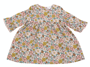 Flower Child Bell Sleeve Dress Baby