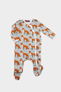 Footed Romper Fox