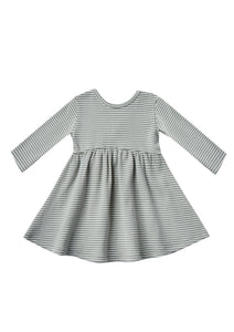 Eucalyptus Stripe Ribbed Dress