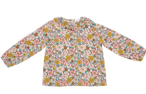 Pink Flower Child Blouse