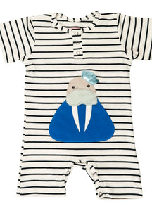 Franky Ocean Striped Romper