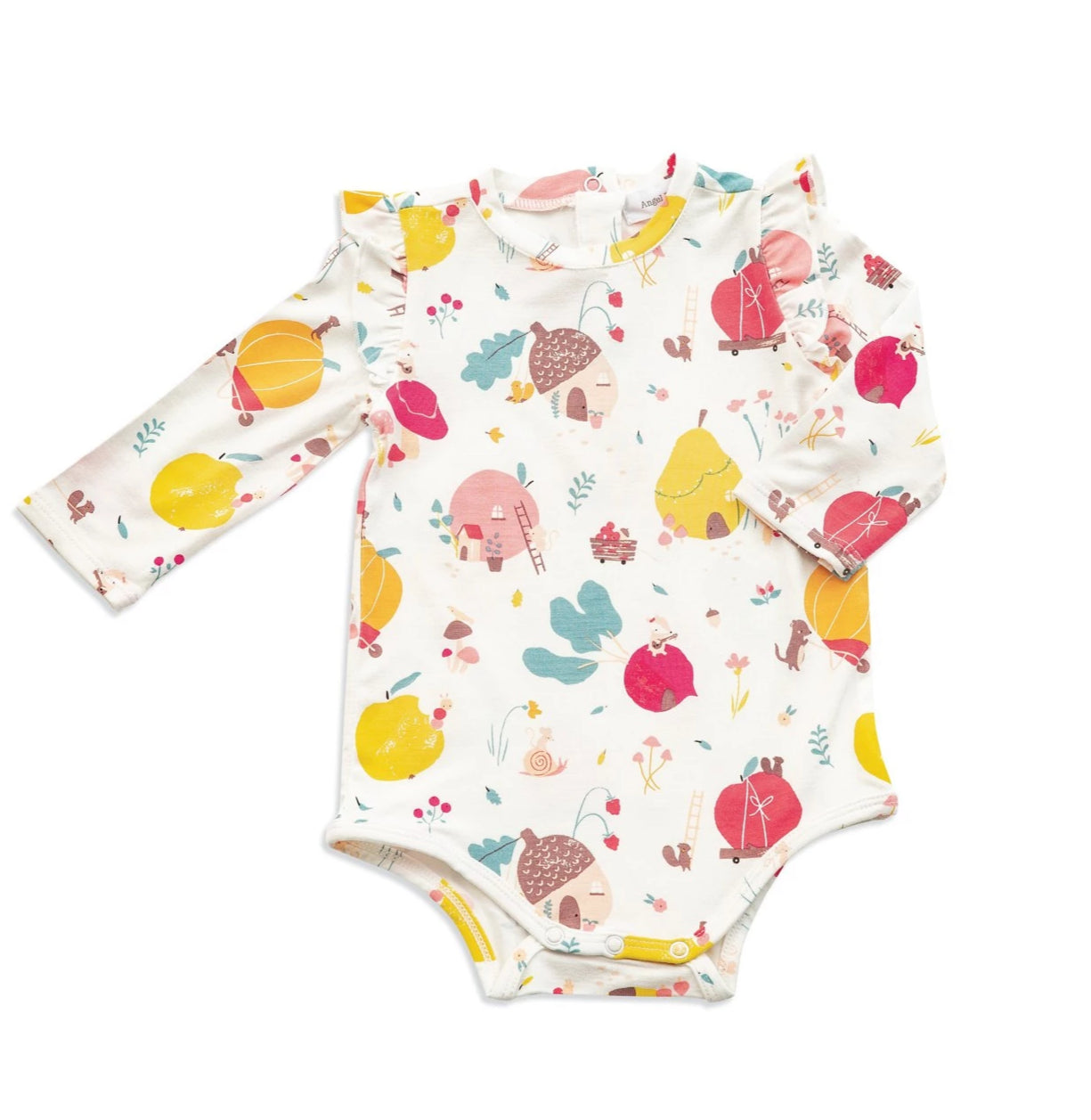 Fruit Homes Ruffle Bodysuit