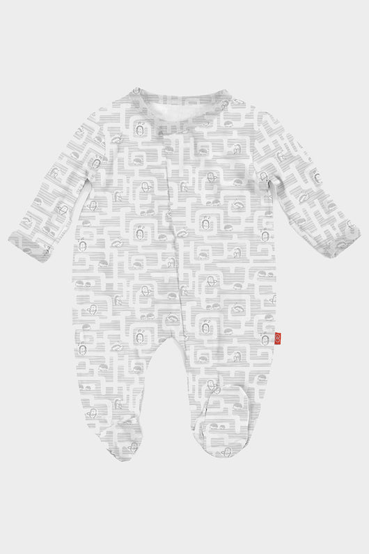 gray hedgehog modal romper