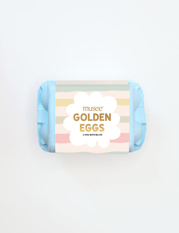 Golden Eggs Bath Balm Set