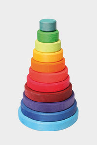 grimm's large conical tower stacking rainbow