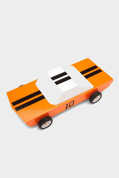wooden muscle car toy
