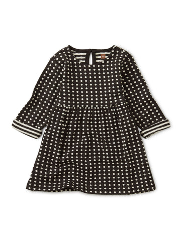 Double Knit Dots Baby Dress