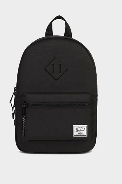 hershel heritage backpack black youth
