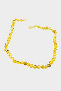 Polished Honey Baltic Amber Necklace